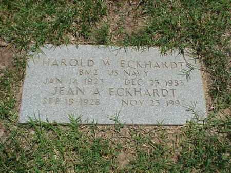 ECKHARDT (VETERAN WWII), HAROLD W - Pulaski County, Arkansas | HAROLD W ECKHARDT (VETERAN WWII) - Arkansas Gravestone Photos