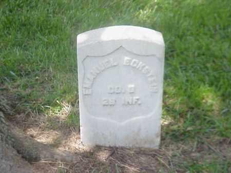 ECKSTEIN (VETERAN UNION), EMANUEL - Pulaski County, Arkansas   EMANUEL ECKSTEIN (VETERAN UNION) - Arkansas Gravestone Photos