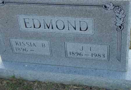 EDMOND, KISSIA B. - Pulaski County, Arkansas   KISSIA B. EDMOND - Arkansas Gravestone Photos