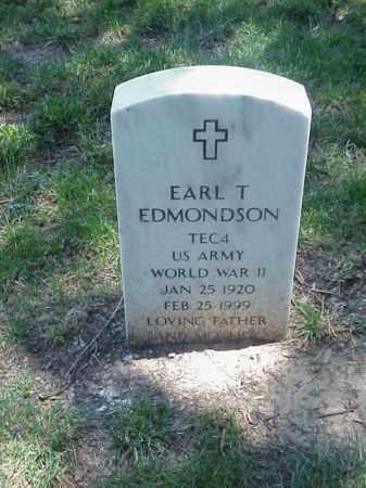 EDMONDSON (VETERAN WWII), EARL T - Pulaski County, Arkansas | EARL T EDMONDSON (VETERAN WWII) - Arkansas Gravestone Photos