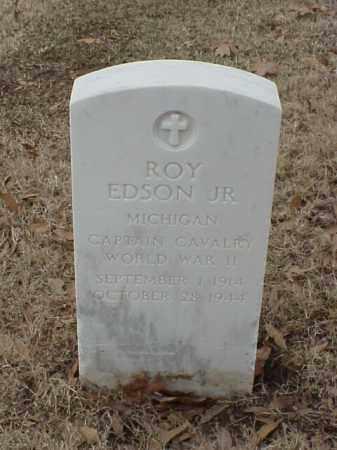 EDSON, JR (VETERAN WWII), ROY R - Pulaski County, Arkansas   ROY R EDSON, JR (VETERAN WWII) - Arkansas Gravestone Photos