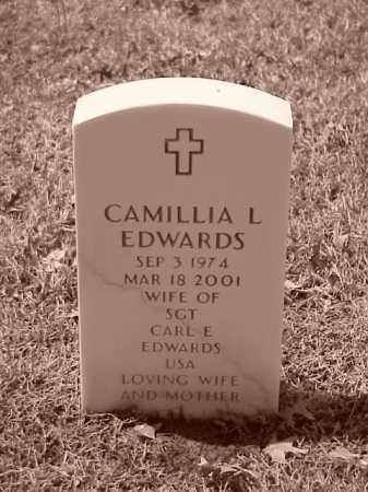 EDWARDS, CAMILLIA L - Pulaski County, Arkansas | CAMILLIA L EDWARDS - Arkansas Gravestone Photos