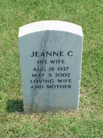 EDWARDS, JEANNE C - Pulaski County, Arkansas | JEANNE C EDWARDS - Arkansas Gravestone Photos