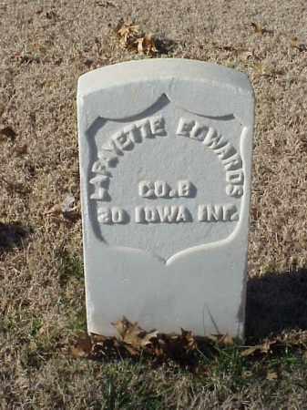 EDWARDS (VETERAN UNION), LAFAYETTE - Pulaski County, Arkansas   LAFAYETTE EDWARDS (VETERAN UNION) - Arkansas Gravestone Photos