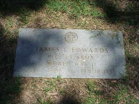 EDWARDS (VETERAN WWII), JAMES L - Pulaski County, Arkansas   JAMES L EDWARDS (VETERAN WWII) - Arkansas Gravestone Photos
