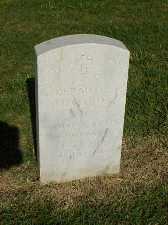 EDWARDS (VETERAN WWII), KERMIT F - Pulaski County, Arkansas | KERMIT F EDWARDS (VETERAN WWII) - Arkansas Gravestone Photos