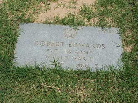 EDWARDS (VETERAN WWII), ROBERT - Pulaski County, Arkansas | ROBERT EDWARDS (VETERAN WWII) - Arkansas Gravestone Photos