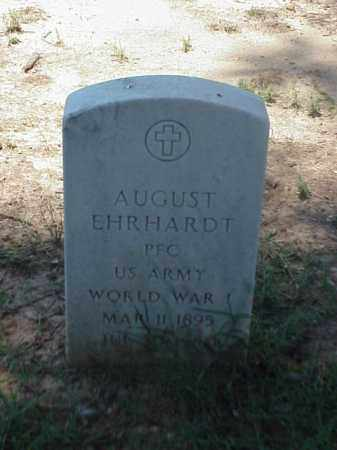EHRHARDT (VETERAN WWI), AUGUST - Pulaski County, Arkansas | AUGUST EHRHARDT (VETERAN WWI) - Arkansas Gravestone Photos