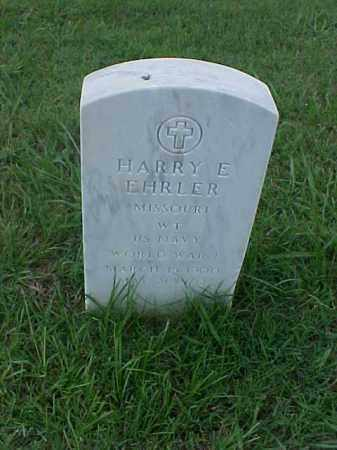 EHRLER (VETERAN WWI), HARRY E - Pulaski County, Arkansas | HARRY E EHRLER (VETERAN WWI) - Arkansas Gravestone Photos
