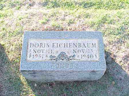 EICHENBAUM, DORIS - Pulaski County, Arkansas | DORIS EICHENBAUM - Arkansas Gravestone Photos