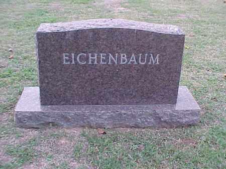 EICHENBAUM FAMILY STONE,  - Pulaski County, Arkansas |  EICHENBAUM FAMILY STONE - Arkansas Gravestone Photos
