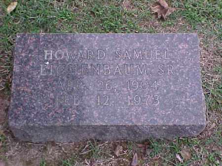 EICHENBAUM, HOWARD SAMUEL - Pulaski County, Arkansas   HOWARD SAMUEL EICHENBAUM - Arkansas Gravestone Photos