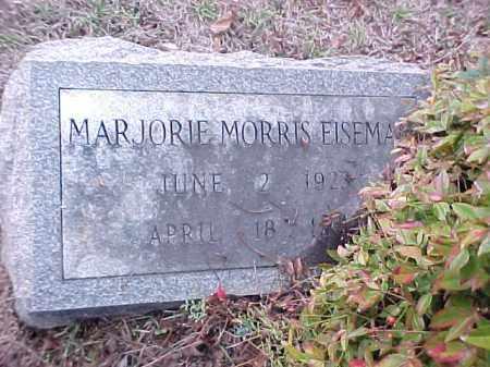 MORRIS EISEMAN, MAJORIE - Pulaski County, Arkansas | MAJORIE MORRIS EISEMAN - Arkansas Gravestone Photos