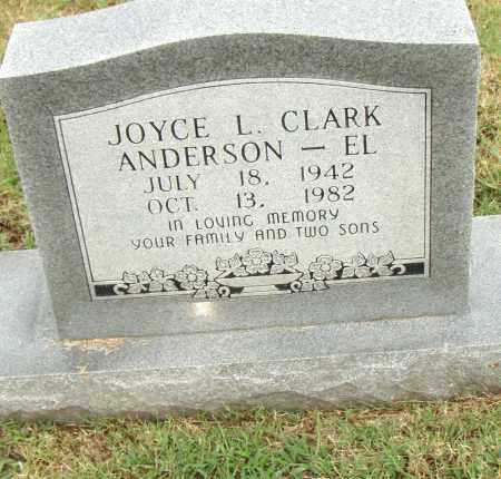 ANDERSON - EL, JOYCE L. - Pulaski County, Arkansas | JOYCE L. ANDERSON - EL - Arkansas Gravestone Photos