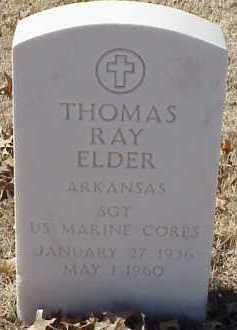 ELDER  (VETERAN), THOMAS RAY - Pulaski County, Arkansas   THOMAS RAY ELDER  (VETERAN) - Arkansas Gravestone Photos