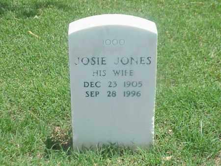 JONES ELDER, JOSIE - Pulaski County, Arkansas | JOSIE JONES ELDER - Arkansas Gravestone Photos