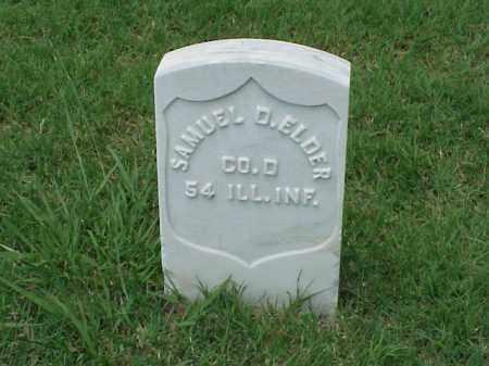 ELDER (VETERAN UNION), SAMUEL D - Pulaski County, Arkansas | SAMUEL D ELDER (VETERAN UNION) - Arkansas Gravestone Photos