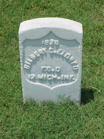ELDRED (VETERAN UNION), GILBERT C - Pulaski County, Arkansas | GILBERT C ELDRED (VETERAN UNION) - Arkansas Gravestone Photos