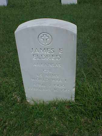 ELDRED (VETERAN WWI), JAMES E - Pulaski County, Arkansas   JAMES E ELDRED (VETERAN WWI) - Arkansas Gravestone Photos
