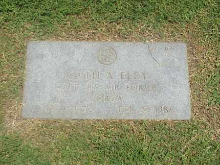 ELEY (VETERAN KOR), KEITH A - Pulaski County, Arkansas | KEITH A ELEY (VETERAN KOR) - Arkansas Gravestone Photos