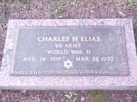 ELIAS (VETERAN WWII), CHARLES H - Pulaski County, Arkansas | CHARLES H ELIAS (VETERAN WWII) - Arkansas Gravestone Photos
