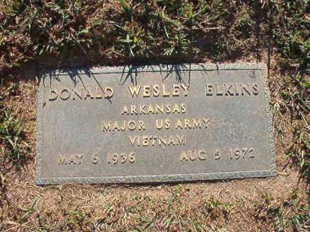 ELKINS (VETERAN VIET), DONALD WESLEY - Pulaski County, Arkansas | DONALD WESLEY ELKINS (VETERAN VIET) - Arkansas Gravestone Photos