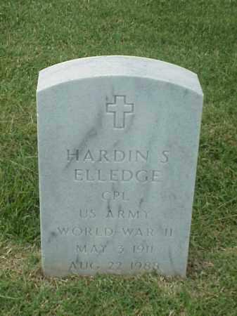 ELLEDGE (VETERAN WWII), HARDIN S - Pulaski County, Arkansas | HARDIN S ELLEDGE (VETERAN WWII) - Arkansas Gravestone Photos