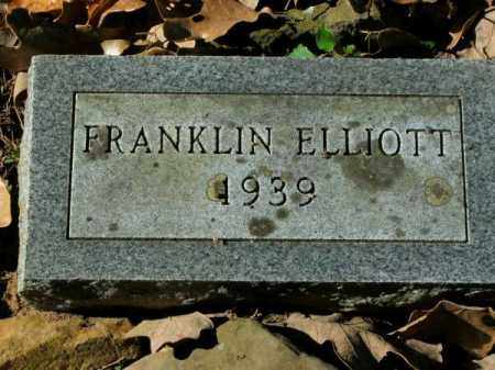 ELLIOTT, FRANKLIN - Pulaski County, Arkansas | FRANKLIN ELLIOTT - Arkansas Gravestone Photos