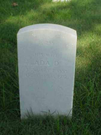 ELLIS, ADA D - Pulaski County, Arkansas | ADA D ELLIS - Arkansas Gravestone Photos