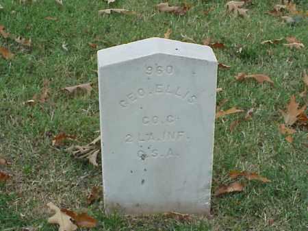 ELLIS (VETERAN CSA), GEORGE - Pulaski County, Arkansas   GEORGE ELLIS (VETERAN CSA) - Arkansas Gravestone Photos