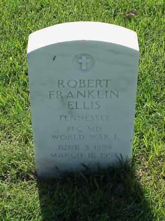 ELLIS (VETERAN WWI), ROBERT FRANKLIN - Pulaski County, Arkansas | ROBERT FRANKLIN ELLIS (VETERAN WWI) - Arkansas Gravestone Photos