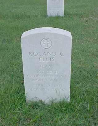 ELLIS (VETERAN WWI), ROLAND C - Pulaski County, Arkansas | ROLAND C ELLIS (VETERAN WWI) - Arkansas Gravestone Photos
