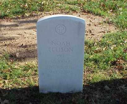 ELLISON (VETERAN KOR), NOAH - Pulaski County, Arkansas | NOAH ELLISON (VETERAN KOR) - Arkansas Gravestone Photos