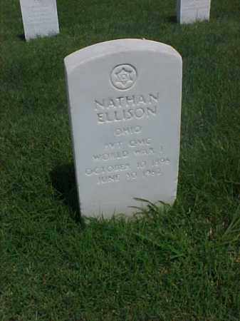 ELLISON (VETERAN WWI), NATHAN - Pulaski County, Arkansas | NATHAN ELLISON (VETERAN WWI) - Arkansas Gravestone Photos