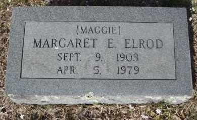 "ELROD, MARGARET E. ""MAGGIE"" - Pulaski County, Arkansas | MARGARET E. ""MAGGIE"" ELROD - Arkansas Gravestone Photos"