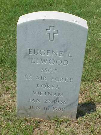 ELWOOD (VETERAN 2 WARS), EUGENE LEROY - Pulaski County, Arkansas | EUGENE LEROY ELWOOD (VETERAN 2 WARS) - Arkansas Gravestone Photos