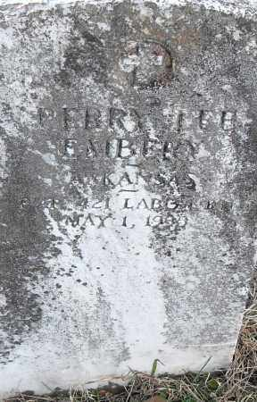 EMBERY, PERRY LEE - Pulaski County, Arkansas | PERRY LEE EMBERY - Arkansas Gravestone Photos