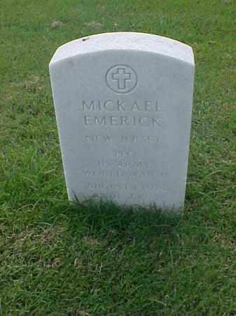 EMERICK (VETERAN WWII), MICKAEL - Pulaski County, Arkansas | MICKAEL EMERICK (VETERAN WWII) - Arkansas Gravestone Photos