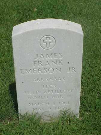 EMERSON, JR (VETERAN WWII), JAMES FRANK - Pulaski County, Arkansas | JAMES FRANK EMERSON, JR (VETERAN WWII) - Arkansas Gravestone Photos