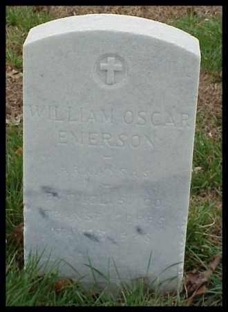 EMERSON (VETERAN WWI), WILLIAM OSCAR - Pulaski County, Arkansas | WILLIAM OSCAR EMERSON (VETERAN WWI) - Arkansas Gravestone Photos