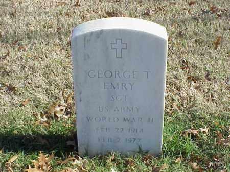 EMRY (VETERAN WWII), GEORGE T - Pulaski County, Arkansas   GEORGE T EMRY (VETERAN WWII) - Arkansas Gravestone Photos