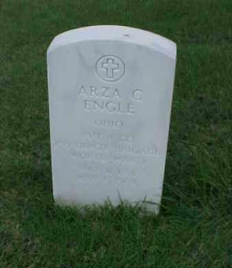 ENGLE (VETERAN WWI), ARZA C - Pulaski County, Arkansas   ARZA C ENGLE (VETERAN WWI) - Arkansas Gravestone Photos