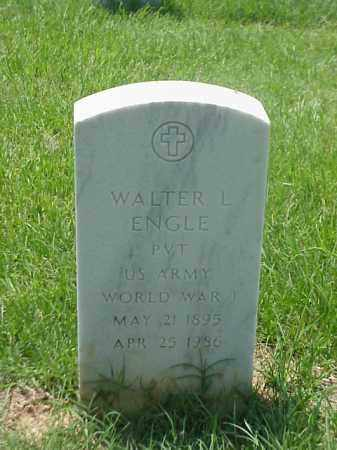 ENGLE (VETERAN WWI), WALTER L - Pulaski County, Arkansas | WALTER L ENGLE (VETERAN WWI) - Arkansas Gravestone Photos