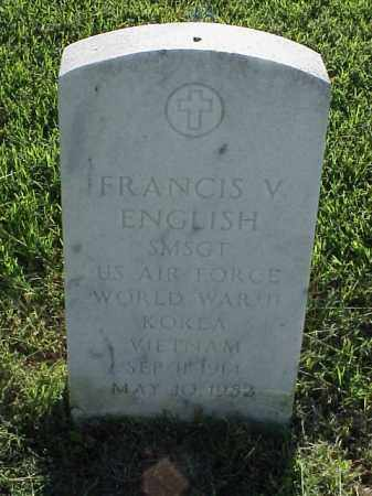 ENGLISH (VETERAN 3 WARS), FRANCIS V - Pulaski County, Arkansas | FRANCIS V ENGLISH (VETERAN 3 WARS) - Arkansas Gravestone Photos