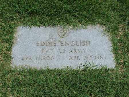 ENGLISH (VETERAN), EDDIE - Pulaski County, Arkansas | EDDIE ENGLISH (VETERAN) - Arkansas Gravestone Photos