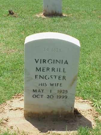 ENGSTER, VIRGINIA - Pulaski County, Arkansas   VIRGINIA ENGSTER - Arkansas Gravestone Photos