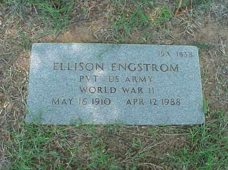 ENGSTROM (VETERAN WWII), ELLISON - Pulaski County, Arkansas | ELLISON ENGSTROM (VETERAN WWII) - Arkansas Gravestone Photos