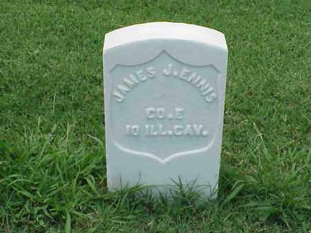 ENNIS (VETERAN UNION), JAMES J - Pulaski County, Arkansas | JAMES J ENNIS (VETERAN UNION) - Arkansas Gravestone Photos