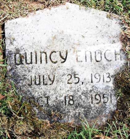 ENOCH, QUINCY - Pulaski County, Arkansas | QUINCY ENOCH - Arkansas Gravestone Photos
