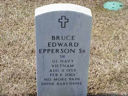 EPPERSON, SR (VETERAN VIET), BRUCE EDWARD - Pulaski County, Arkansas | BRUCE EDWARD EPPERSON, SR (VETERAN VIET) - Arkansas Gravestone Photos